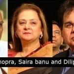 Yash Chopra, Saira Banu, Dilip Kumar