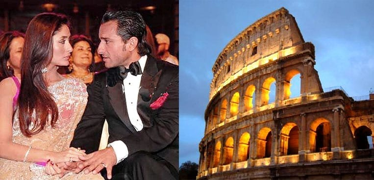 Saif and Kareena are planing to go Rome