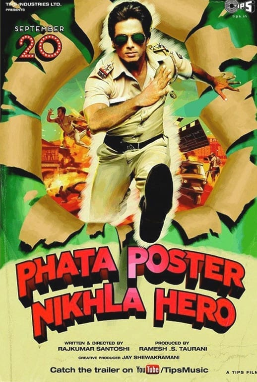 Movie Poster of 'Phata Poster Nikla Hero'