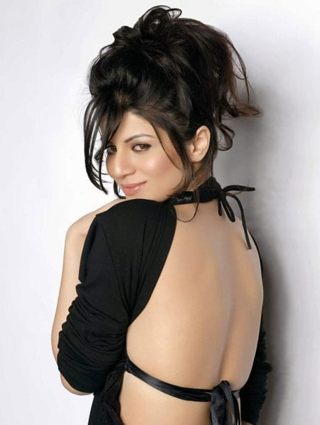 Kainaat Arora open back dress