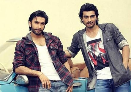 Arjun Kapoor and Ranveer Singh in 'Gunday'