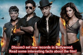 Dhoom3 interesting facts