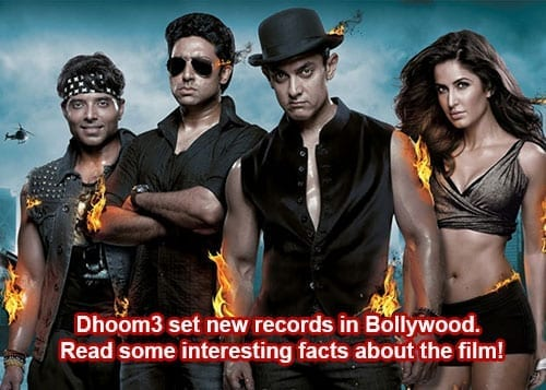 Dhoom3 first day release – few noteworthy and interesting facts!