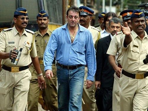 Sanjay Dutt out of jail on parole