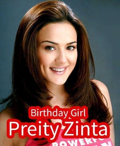 Preity Zinta Birthday