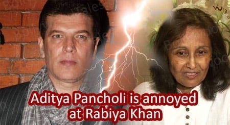 Aditya Pancholi is annoyed at sting operation by Rabiya Khan