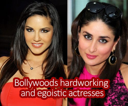 Bollywood's sturdy, hardworking but haughty and egoistic actresses