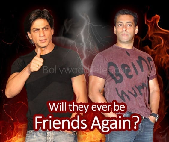 Can Salman and Shahrukh be friends again?