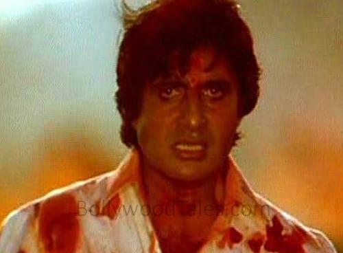 Amitabh Bachchan in Agnipath