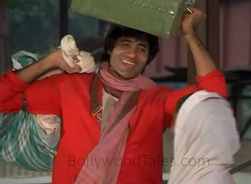 Amitabh Bachchan as Coolie