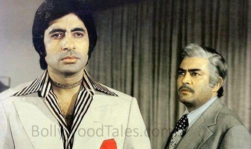 Amitabh Bachchan and Sanjeev Kumar