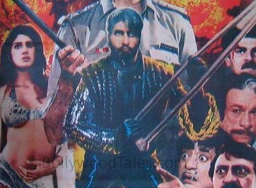 Amitabh Bachchan in Shahenshah
