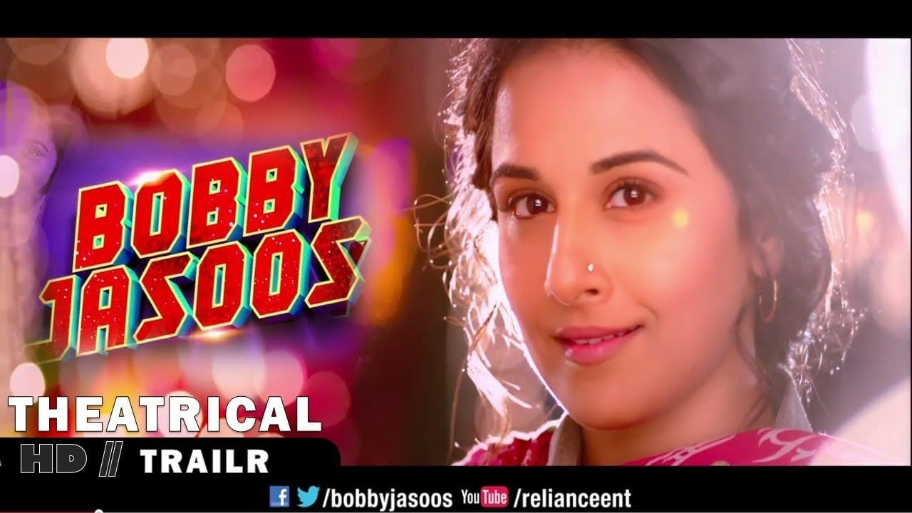 'Bobby Jasoos' Theatrical Trailer starring Vidya Balan