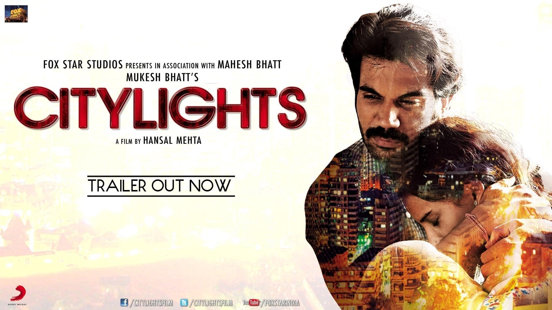 'City Lights' Theatrical Trailer Starring Rajkumar Rao