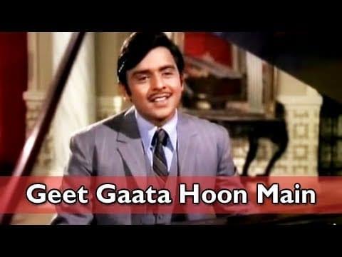 Geet Gaata Hu Main Gungunata Hu Main – Lal Patthar (1971)