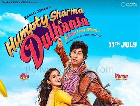 'Humpty Sharma Ki Dulhania' is a romantic comedy full of fun and masti.