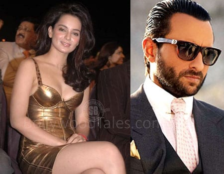 Kangana Ranaut and Saif Ali Khan