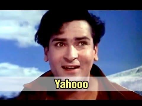 Yahoo! Chahe Koi Mujhe Junglee Kahe – Junglee(1961), Shammi Kapoor