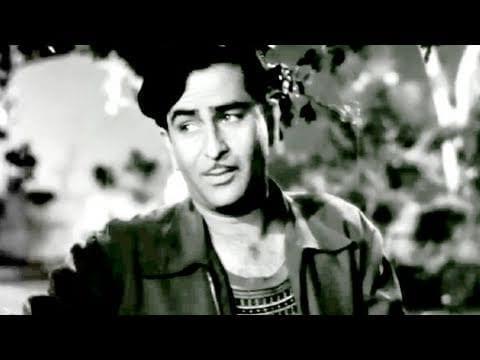 Ye Raat Bheegi Bheegi Ye Mast Fizayen – Chori Chori (1956), Raj Kapoor, Nargis