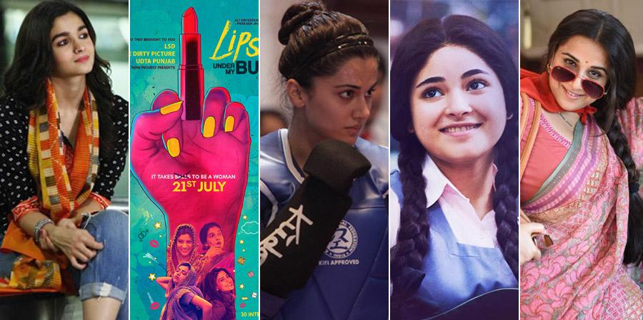 5 movies with strong female protagonists that made an impact in 2017!