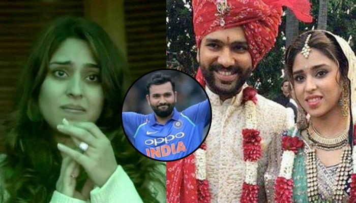 Rohit Sharma's Wife In Tears, Gives Best Gift To Wife Ritika On Marriage Anniversary [WATCH]