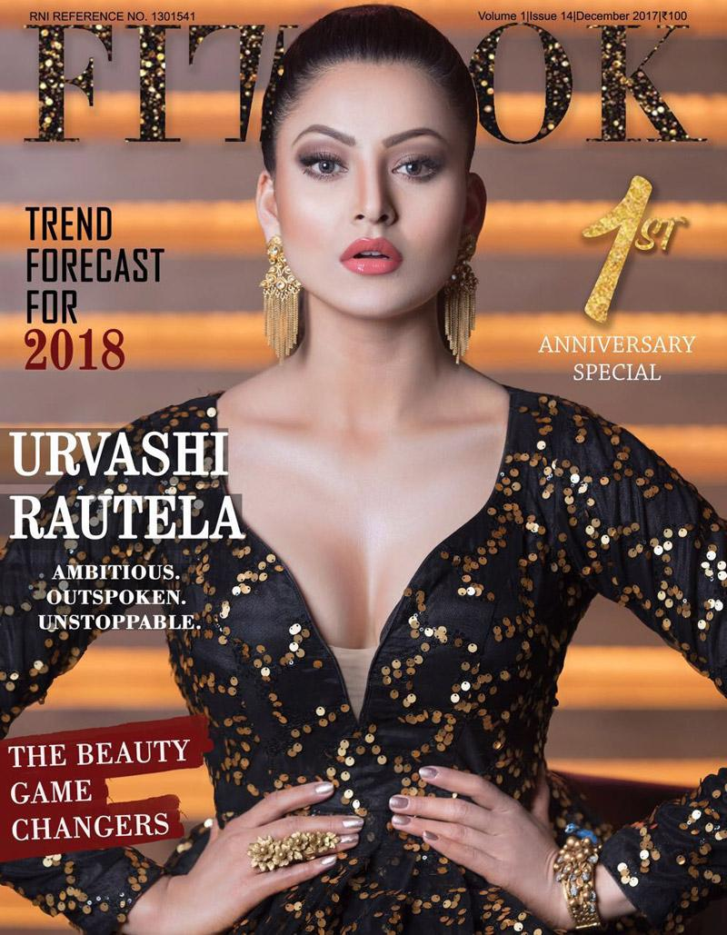 Urvashi Rautela sizzles on FITLOOK Magazine Cover!